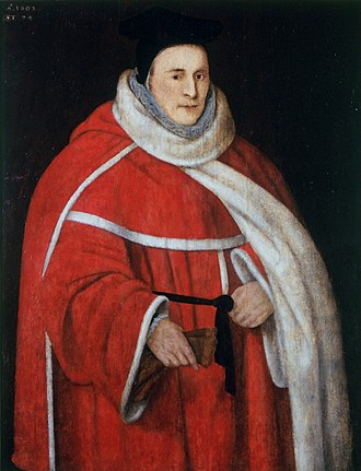 Court of King's Bench (England) - John Popham, the Chief Justice of the King's Bench who brought the Common Pleas and King's Bench into conflict over assumpsit