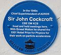 Sir John Cockroft plaque.jpg