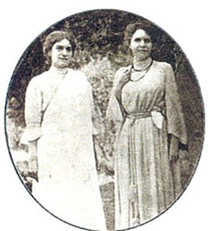Sister Christine - Sister Christine (left) with Sister Nivedita (right) in India