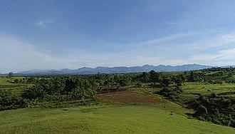 Occidental Mindoro - Landscape near San Jose, Occidental Mindoro