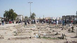 Sitra - Image: Sitra cemetery Flickr Al Jazeera English
