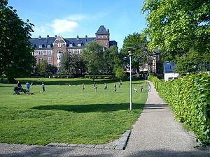 Skanseparken - Image: Skanseparken 4