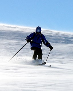 Skilaeufer Alpin