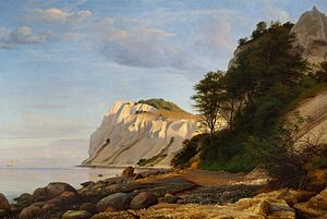 P. C. Skovgaard - View from Møns Klint