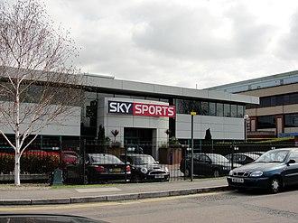 Sky Studios - Sky 7, soon to be demolished