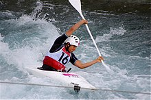 Olympic canoer Luuka Jones