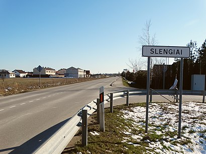 How to get to Slengiai with public transit - About the place
