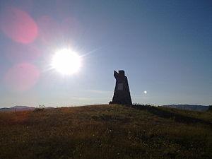 Kruševo - Sliva Monument near Kruševo