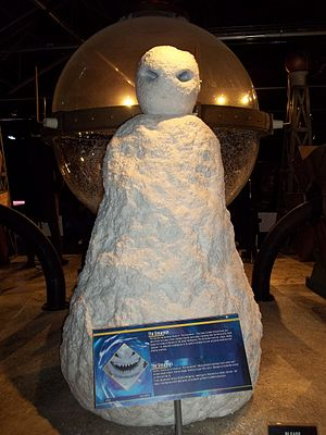 The Snowmen - The Snowmen, as shown at the Doctor Who Experience