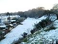 Snowy field, Radyr, Cardiff - geograph.org.uk - 2180025.jpg