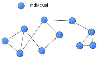 Social Network on Wikipedia