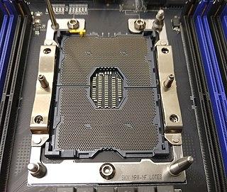 LGA 3647 Intel CPU socket for servers (released 2016)