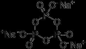 Sodium trimetaphosphate - Image: Sodium trimetaphosphate