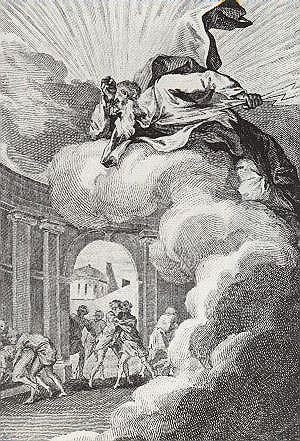 Sodomy - François Elluin, Sodomites provoking the wrath of God, from Le Pot-Pourri de Loth, 1781