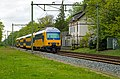 Soest DDZ 7531 Sprinter Zwolle langs oude NS station van Soestduinen (14022216785).jpg