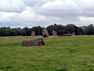 Chew Valley - A prehistoric stone circle at Stanton Drew