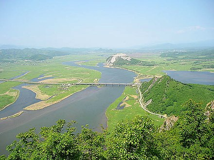 The mouth of Partizanskaya River near Nakhodka. View from Sopka Sestra [ru