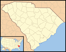Branchville is located in South Carolina