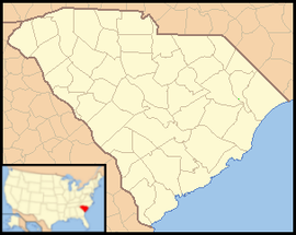 Columbia is located in South Carolina