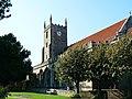 South elevation, St Marys Church, Marlborough (geograph 2632040).jpg
