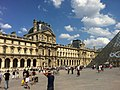 South facade of the Richelieu Wing, Palais du Louvre, Paris July 2013 - panoramio.jpg