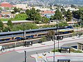 Southbound Capitol Corridor train at Richmond station, April 2018.JPG