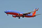 Southwest Airlines, Boeing 737-8H4(WL), N8323C - LAX (17952691723).jpg