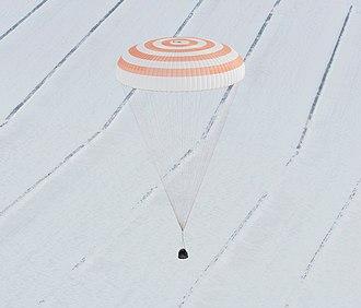 Soyuz TMA-16 - Soyuz TMA-16 Lands