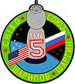 Soyuz TMA-5 Patch white.jpg