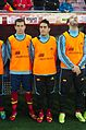 Spain - Chile - 10-09-2013 - Geneva - Nacho, Koke and Alvaro Negredo.jpg