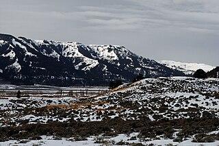 Specimen Ridge mountain in United States of America