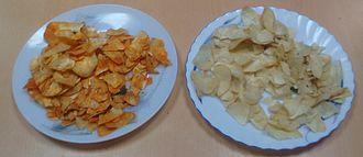 Tapioca - Spicy and non-spicy tapioca chips