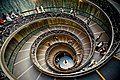 Spiral staircase in the Vatican Museums.jpg