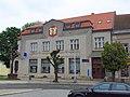 Spořitelna building in Moravské Budějovice, Třebíč District.JPG