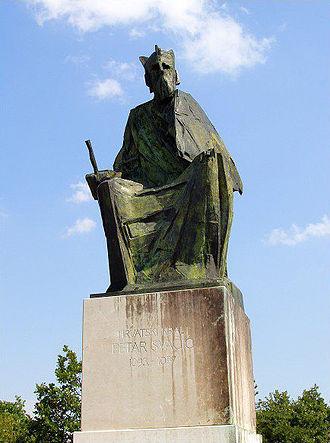 Ban of Croatia - Image: Spomenik Petru Svačiću 25