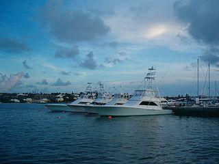 Sport fishing boat