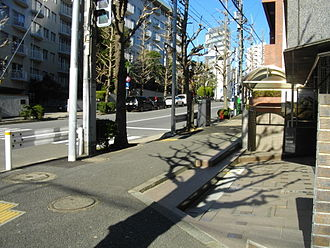 Hideo Murai - Spot of assassination of Hideo Murai
