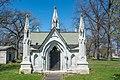 Sprankle mausoleum - Woodland Cemetery.jpg