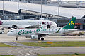 Spring Airlines, 9C8916, Airbus A320-214, B-9965, Departed to Xi'an, Kansai Airport (16989976997).jpg