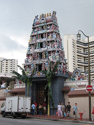 Hinduism in Singapore - Sri Mariamman Temple, Singapore