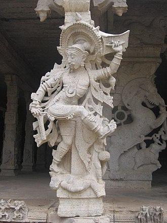 History of South India - Stone sculpture, Srivaikuntanathan Permual temple, Srivaikuntam, Tuticorin, Tamil Nadu