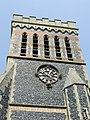 Ss Peter and Paul Church, Foxearth, Essex - church tower.jpg