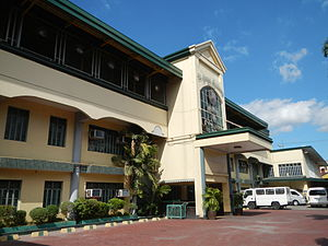 St. James Academy (Malabon) - The school's facade until its renovation in 2014.
