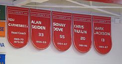 St. John's retired numbers 13,20,33, and 55.jpg