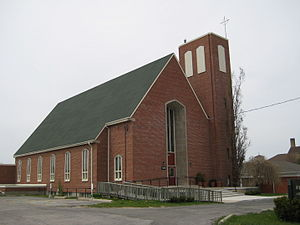 Rexdale - St. Paul the Apostle Anglican Church on Kipling Avenue