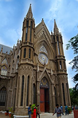 St. Philomena's Cathedral, Mysore - St. Philomena's Church in Mysore