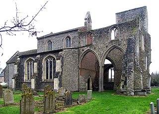 Little Cressingham village in the United Kingdom