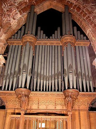 Henry Willis - St Bees Priory organ 1899