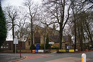 St Clements Church, Chorlton-cum-Hardy Church in Manchester, England