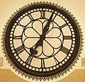 St Enoch's Station Clock in the Antonine Centre, Cumbernauld.jpg